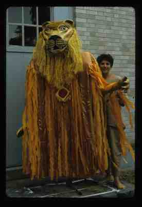 Aslan from the Lion the Witch and the Wardrrobe