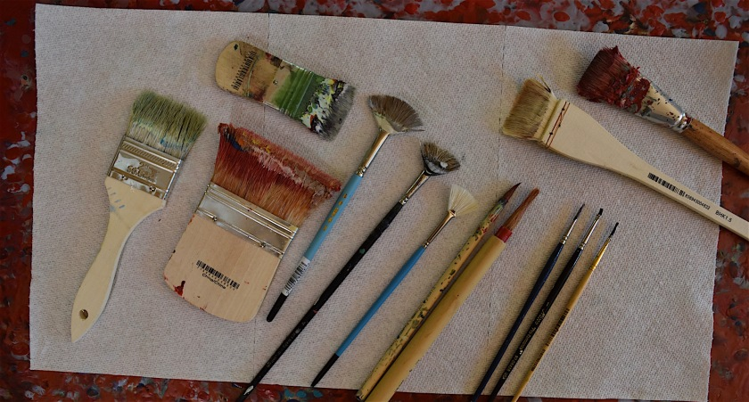 Brushes for Encaustic