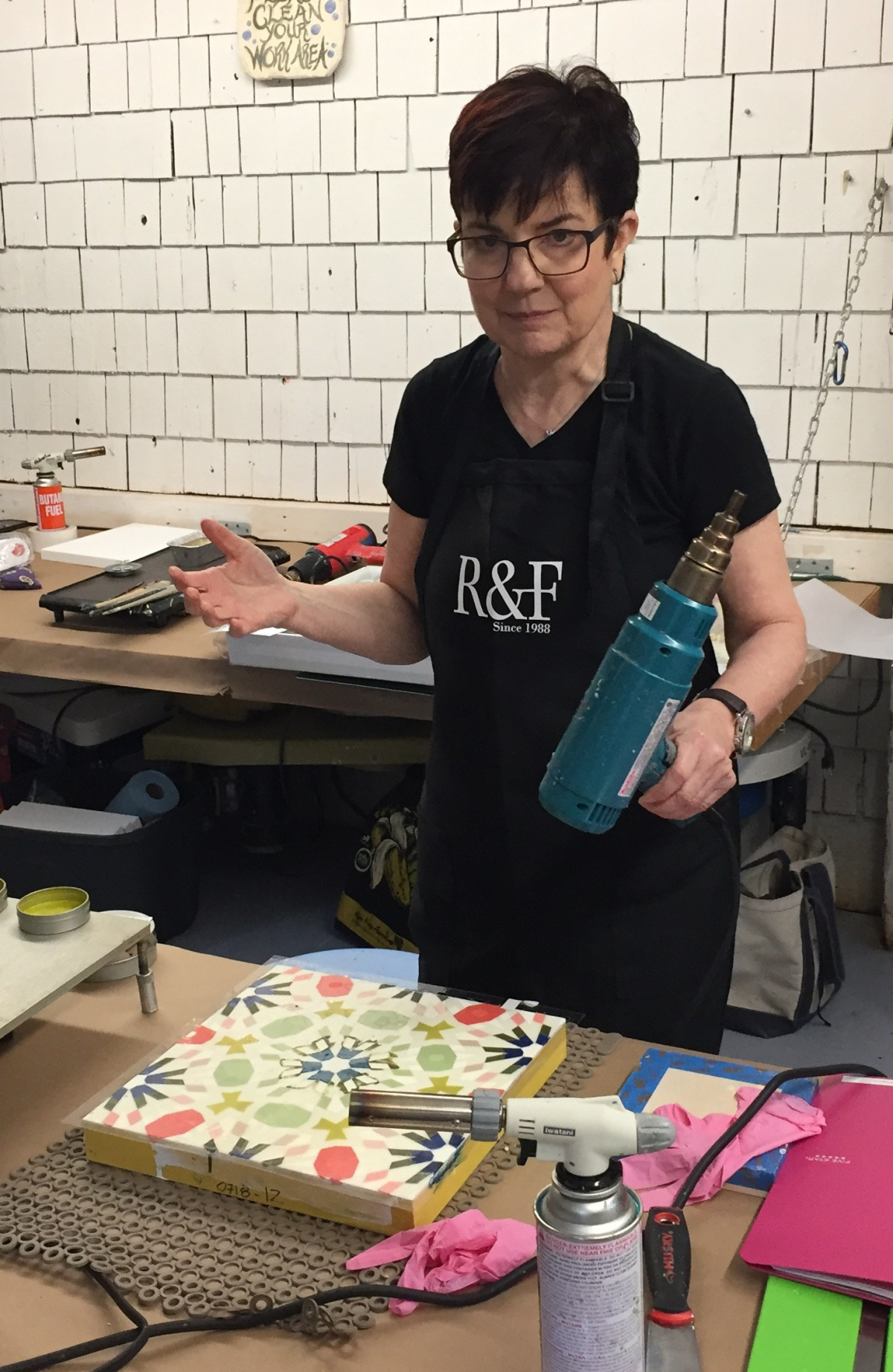 Final Day at the International Encaustic Conference and a Post Conference Workshop with Karen Freedman: